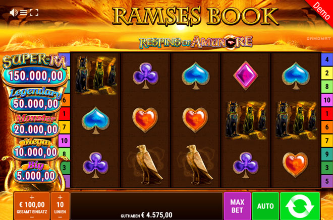 Ramses Book Respins of Amun-Re Vorschau