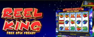 reel king free spin frenzy banner medium