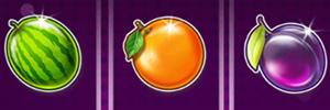 Star Joker Melonen Orangen Pflaumen