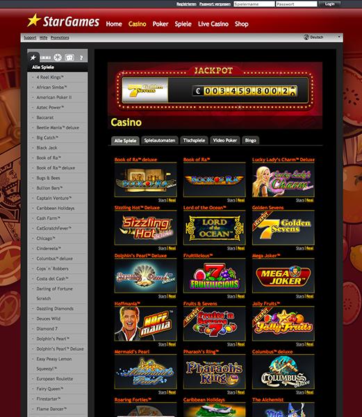 stargames casino adresse
