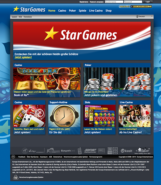 stargames bonus 2017