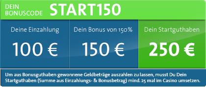 sunmaker bonus start150
