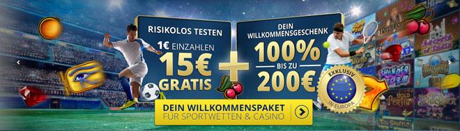 SunMaker Casino Doppelbonus