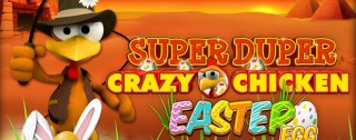 super duper moorhuhn easter egg banner medium