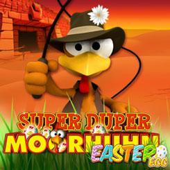 Super Duper Moorhuhn Easter Egg Logo