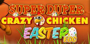 Super Duper Moorhuhn Easter Egg Schriftzug