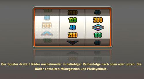 Swipe And Roll Bonus Spiel