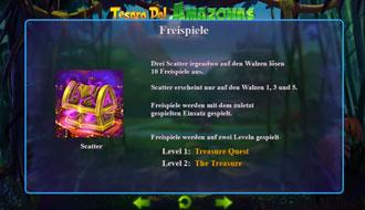 tesoro del amazonas bonus