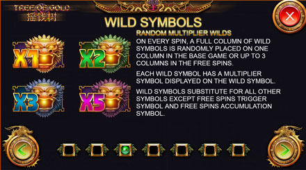 Tree Of Gold Wild Bonus