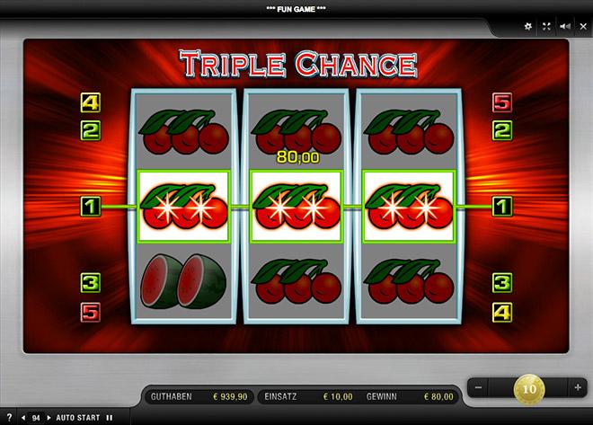 triple chance online ohne geld