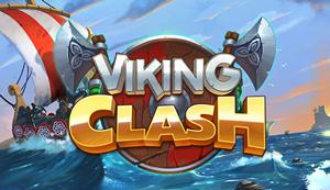 Viking Clash Schriftzug