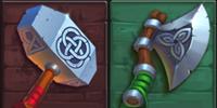 Viking Clash Waffen