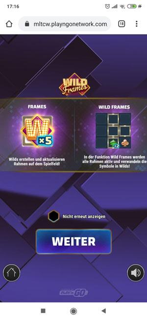 Wild Frames mobile