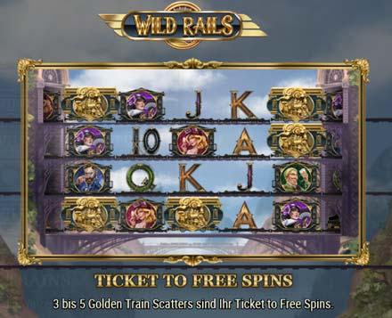 Wild Rails Bonus