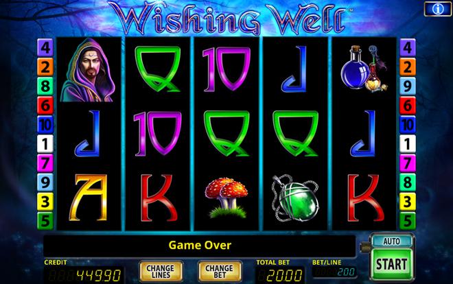 Wishing Well Spielautomat