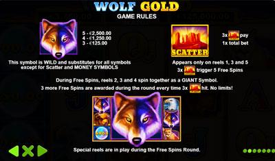 Wolf Gold Freispiele