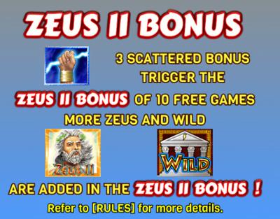 Zeus II Bonus