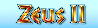 Zeus II Schriftzug